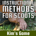 Instructional Methods For Scouts – Kim's Game