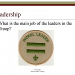 Lead, Train and Inspire PowerPoint Presentation