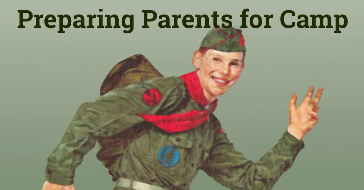 preparing parents for camp
