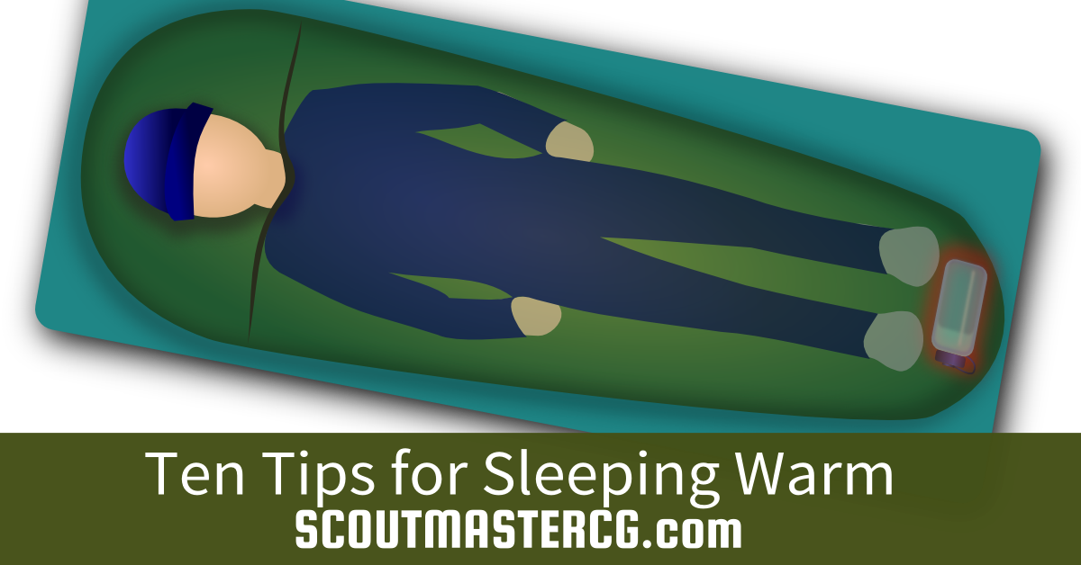 Sleeping Warm tips