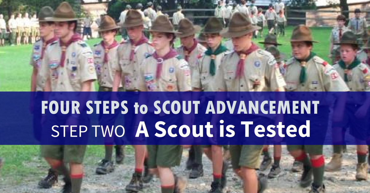 four steps to scout advancement 2