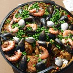 Upside-Down Dutch Oven Paella