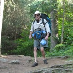 Portage pack and day bag (the waist or lumbar pack)
