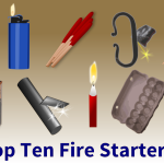 Top Ten Fire Starters Infographic