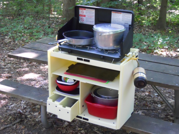Plastic chuck box for Best camping kitchen ideas