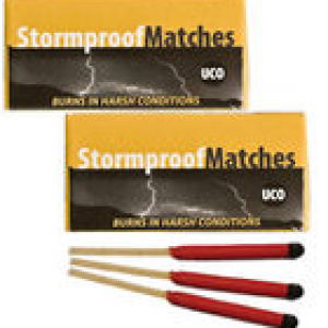 32-UCO Stormproof Matches Twin Pack 87562