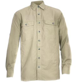 Campmor Men's UPF 50+ Long Sleeve Adventure Shirt 73578_san