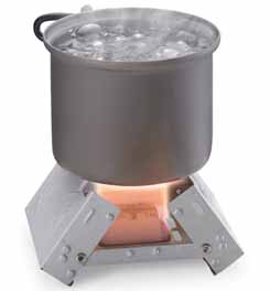 Esbit Pocket Stove with 6 Solid Fuel Cubes 81290_alt1