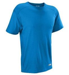 Russell Athletic Dri-Power 360 Performance Short Sleeve Tee Shirt 33982_blu