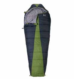 Slumberjack Latitude 20 Degree Sleeping Bag 47324_gre