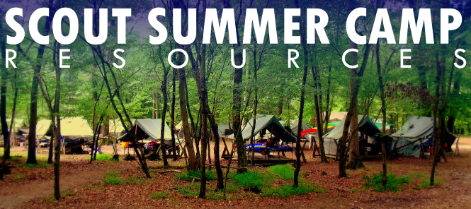 scout summer camp resources