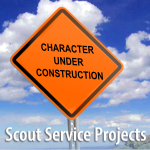 Scout Service Projects 2nd Class, Star, and Life