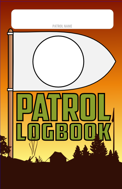 patrol logbook cover