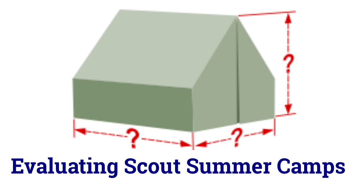 evaluating scout camps