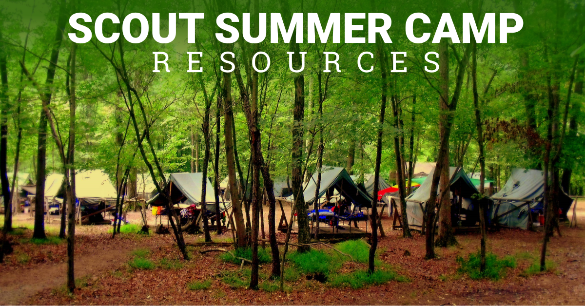 scout summer camp resource
