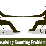 Resolving Scouting Problems