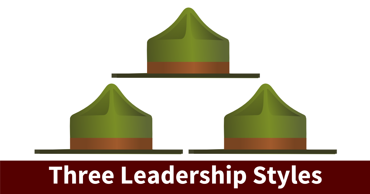 types of leadership styles Leadership style is not about good/bad, right/wrong: leadership style depends on the task, people and situation to be managed according to hay-mcber there are six key leadership or management styles.