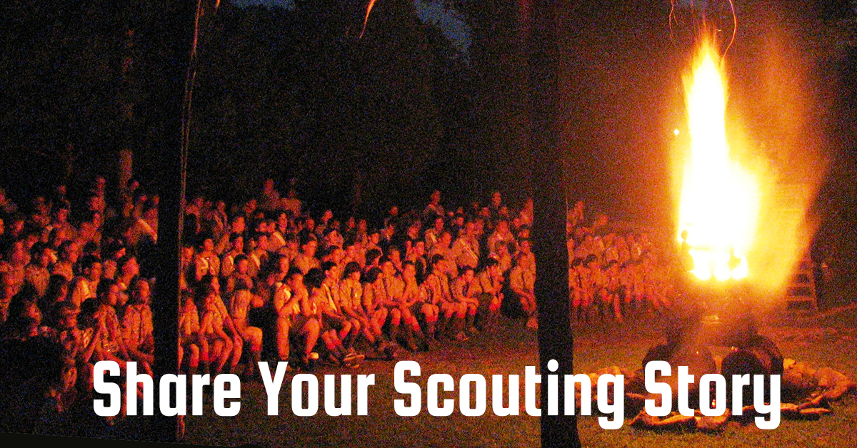 share your scouting story