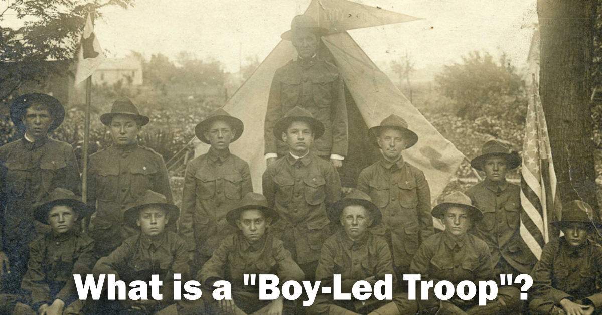 what is a boy led troop