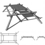 Friction Lock Table