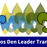 Webelos Den Leader Transition