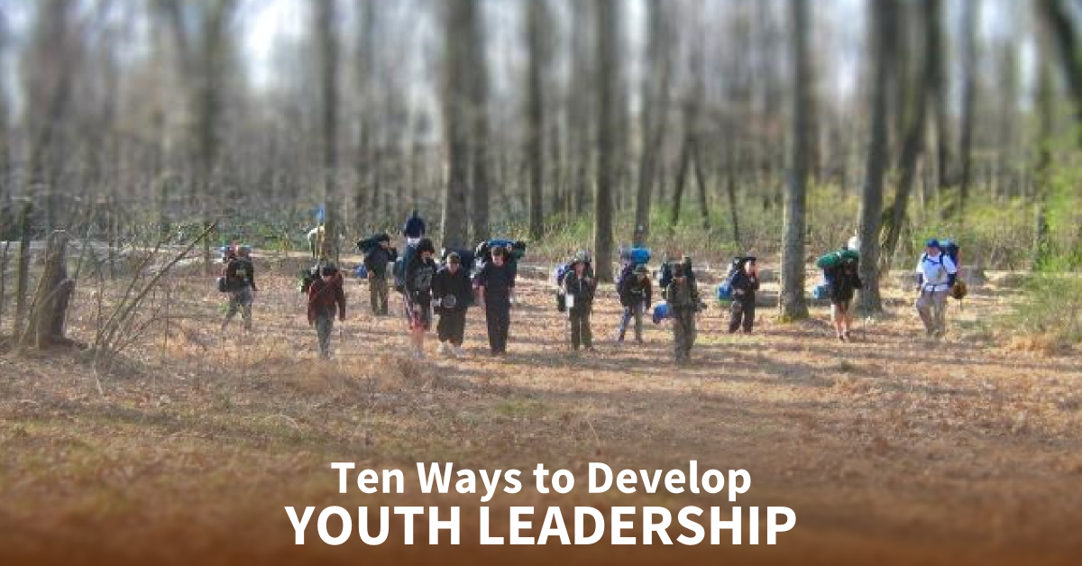 ten ways to develop youth leaders