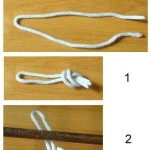How to Tie the First Class Badge Overhand Knot