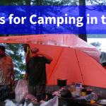 Ten Tips for Camping in the Rain
