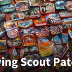 Sewing Scout Patches