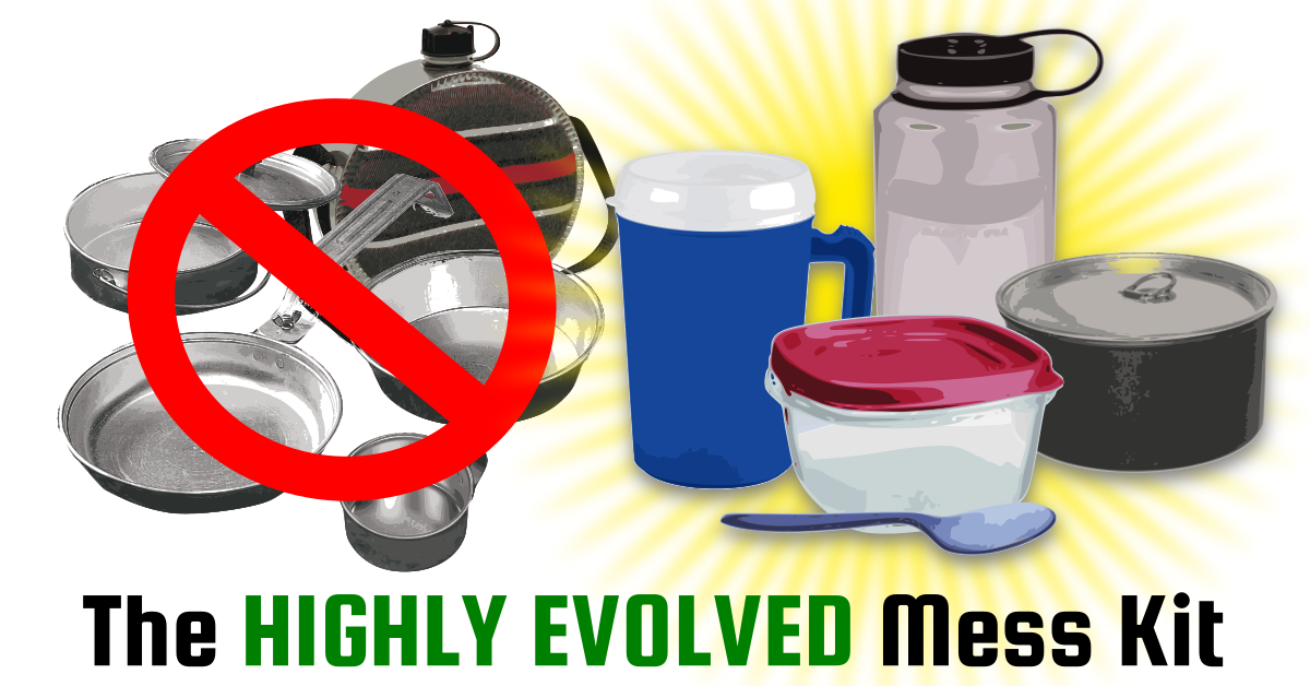 the highly evolved mess kit