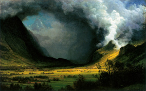 HRSOA_AlbertBierstadt-Storm_in_the_Mountains