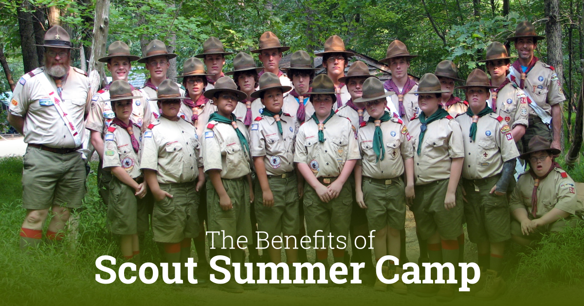 the benefit of Scout summer camp