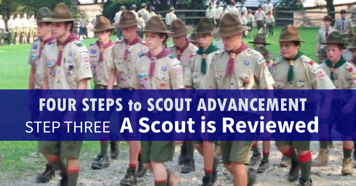 four steps to scout advancement 3