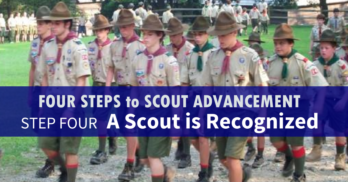four steps to scout advancement 4