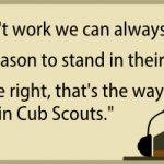 Three Handy Phrases for Scoutmasters