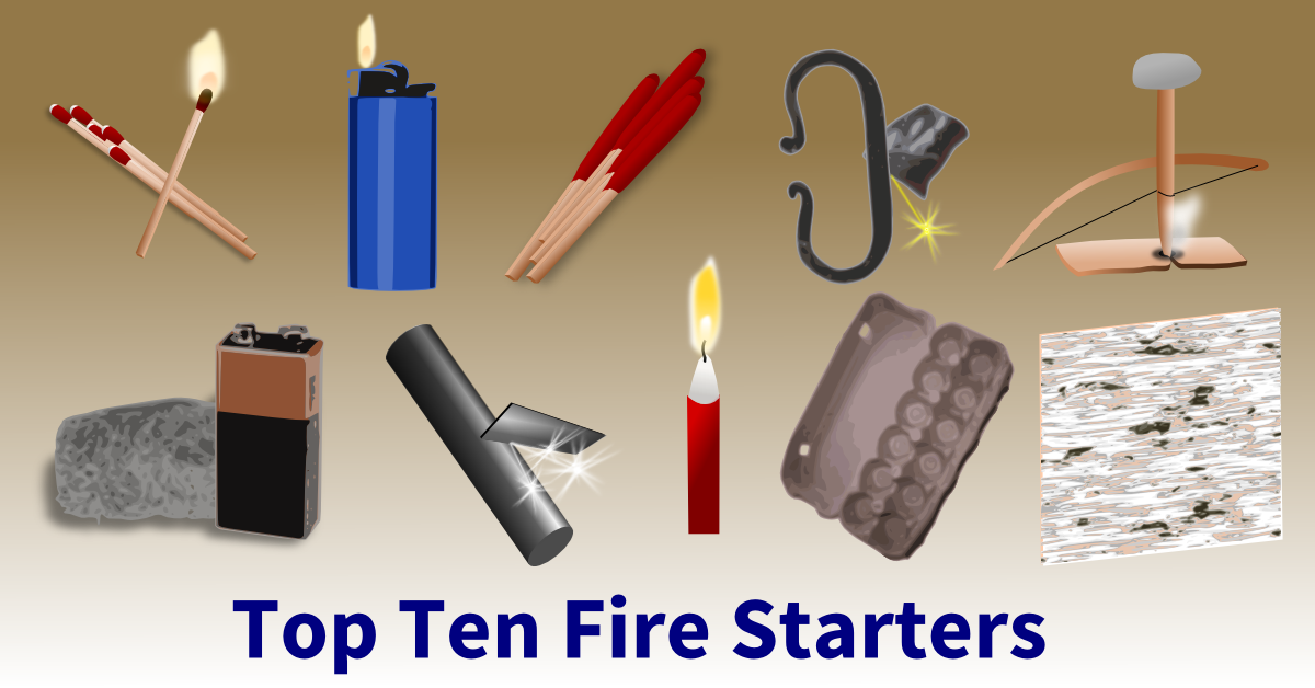 top ten fire starters