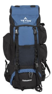 Blue Explorer 4000 Back PackL