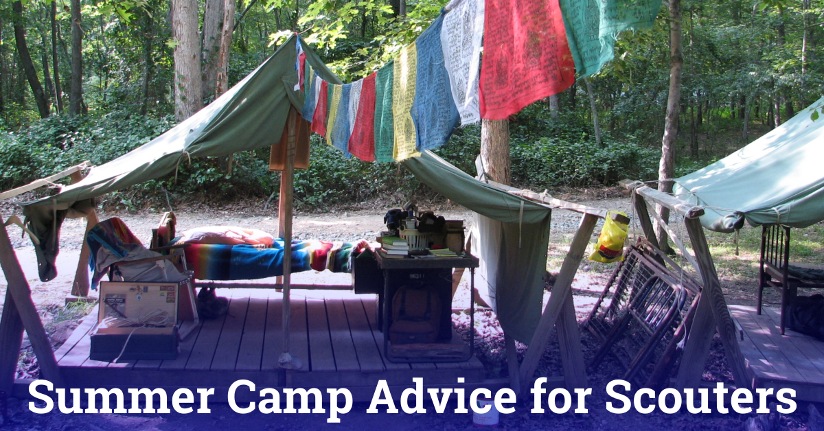 summer camp advice for scouters