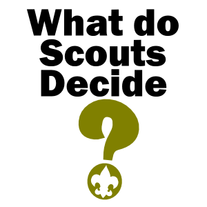 what do scouts decide