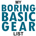 My Boring Basic Scout Gear List