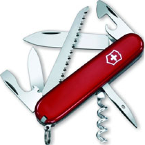 Victorinox Swiss Army Camper Knife 81084red