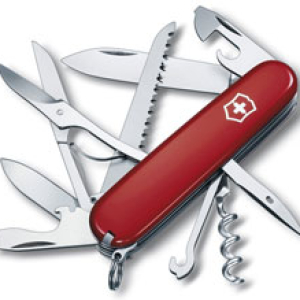 Victorinox Swiss Army Huntsman 81096red