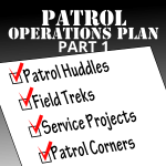 Patrol Operations Plan Part 1 – Map the trail to Success