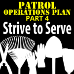 The Operations Plan Part 4 – Strive to Serve!