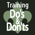 Scouter Training Do's and Don'ts
