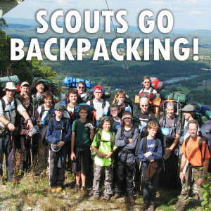 scouts go backpacking