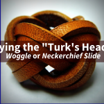 Turk's Head Knot Neckerchief Slide