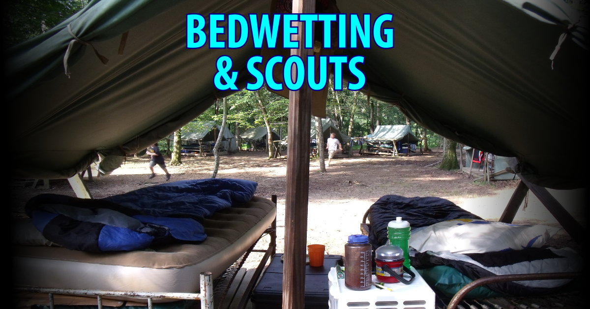bedwetting and scouts