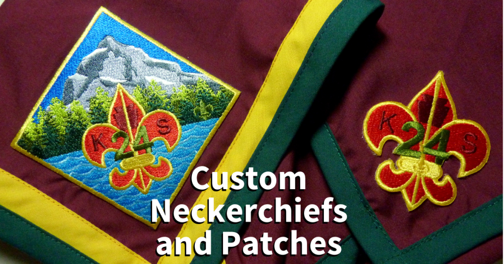 custom neckercheifs and patches