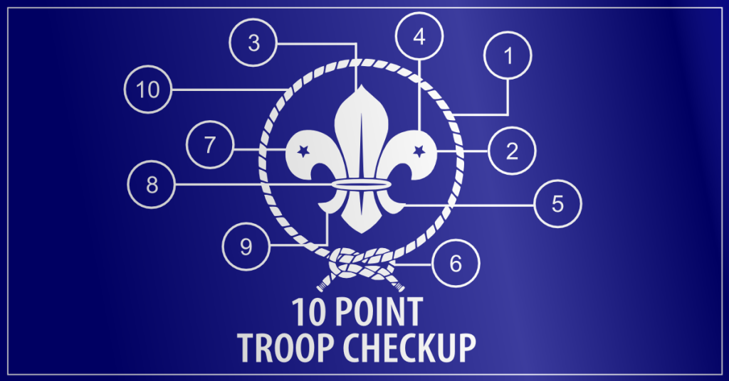 ten point troop checkup